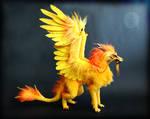 Lord Topaz - OOAK Dragon Doll