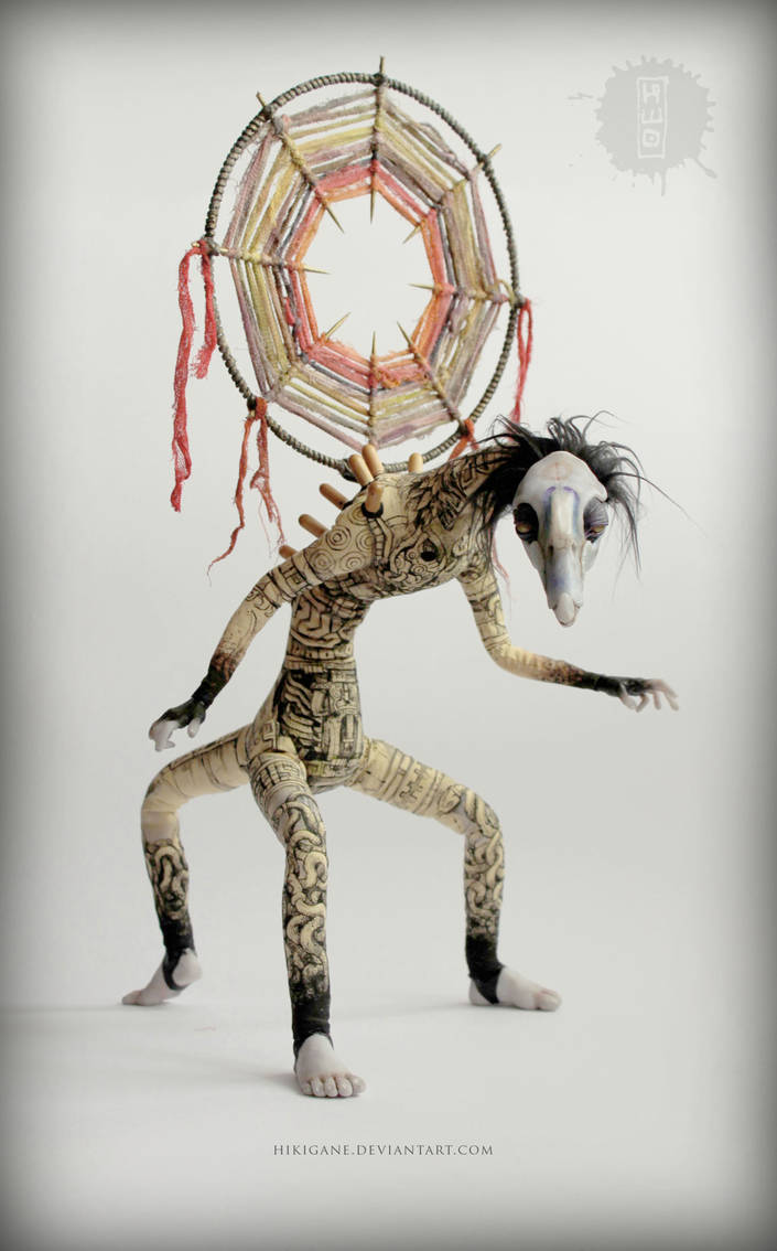 Sentinel-Vega poseable art doll