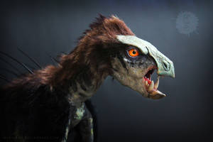 LIFE SIZED Pegomastax dinosaur art doll by hikigane