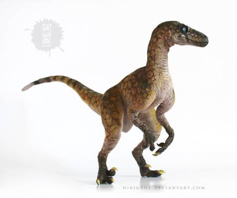 Raptor Panthera handmade posable art doll
