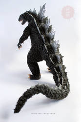 GOJIRA - Godzilla OOAK posable art doll for SALE by hikigane