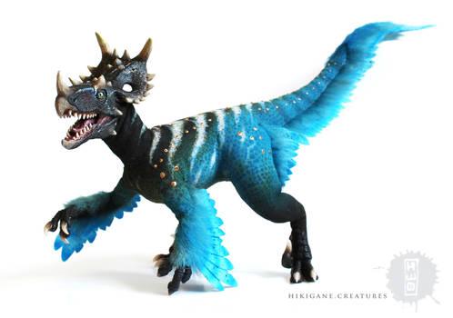 Jurassic World Utasinoraptor OOAK art doll