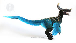 Jurassic World Utasinoraptor OOAK art doll