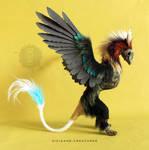 Memory Guardian 'Algorab' OOAK posable art doll