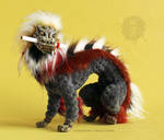 Memory Guardian 'PROCYON' OOAK posable art doll