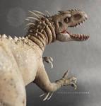 INDOMINUS REX Jurassic World - Posable Art Doll