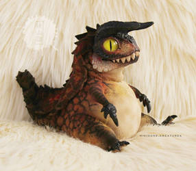 Chubby Hypo Carno OOAK art doll - The Isle