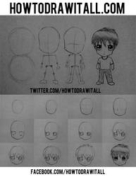 HOW TO DRAW CHIBI by HowToDrawItAll