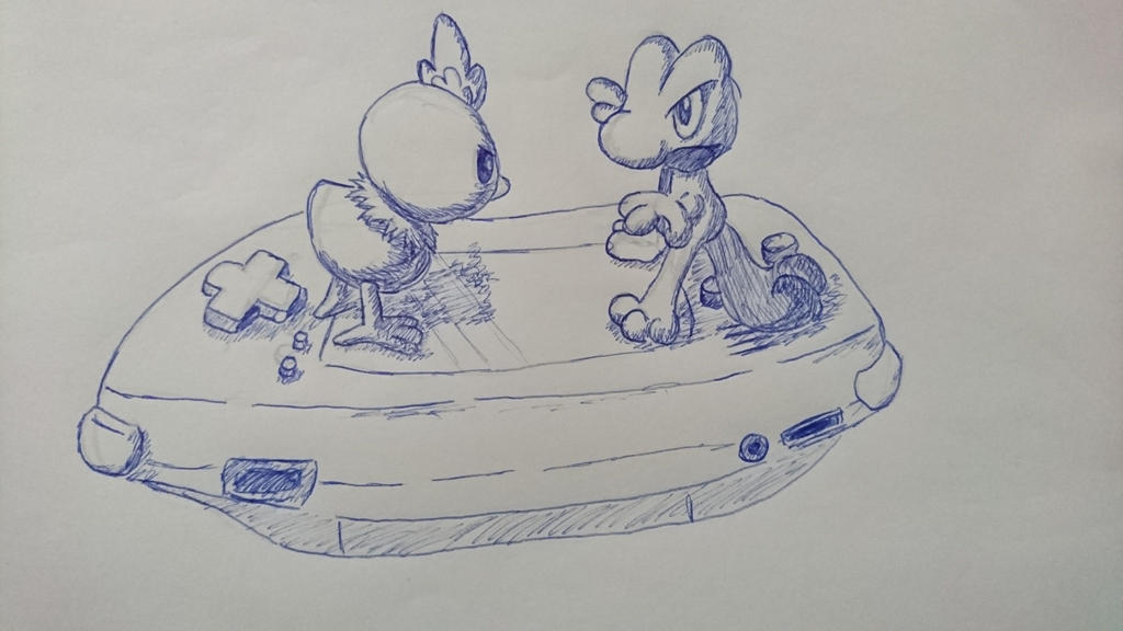 pokemon sketch1 by FyrirRaan