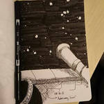 Astronomy tower - Inktober 2018 Day 8