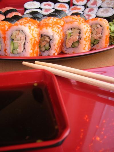 Sushi by Villemu