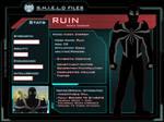 Marvel OC: Ruin Profile