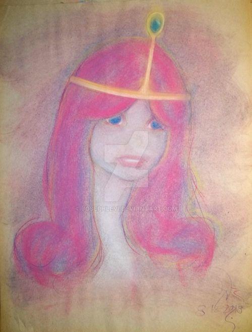 Bubblegum sketch by JosephLevi