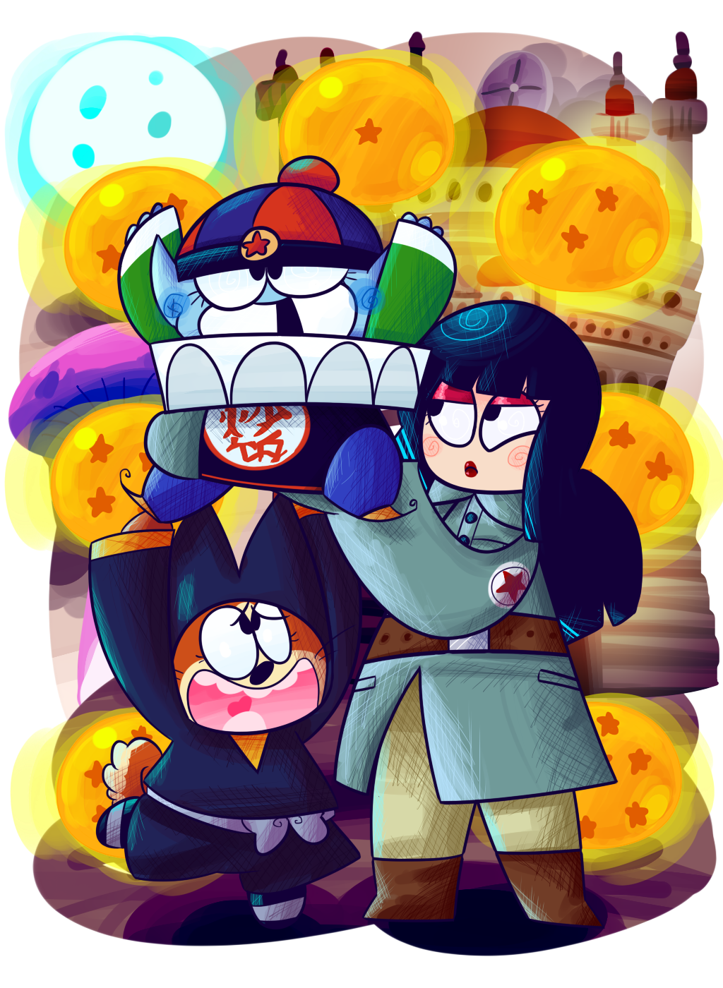 The Pilaf Saga by KrystalFleming