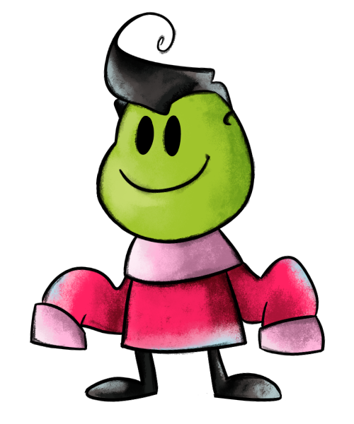 Zim the Normal Plant Beanish Filth by KrystalFleming