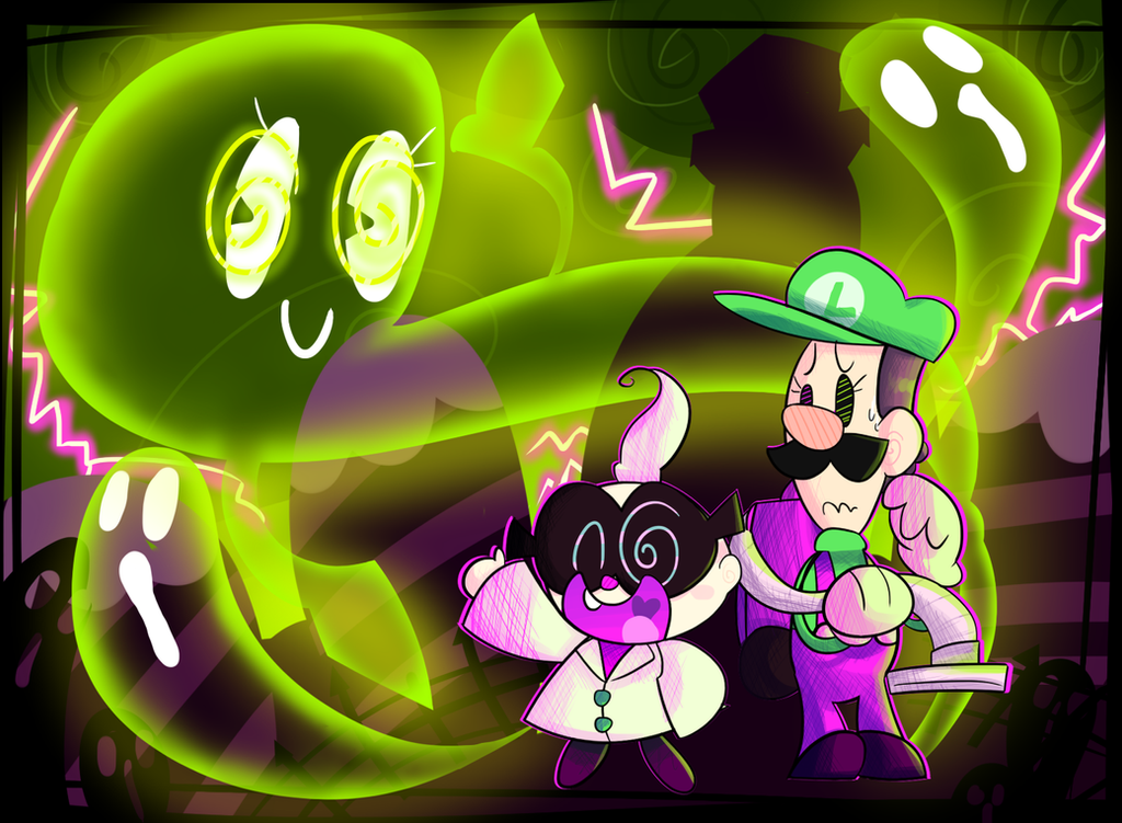 This Town is filled with Ghosts! by KrystalFleming