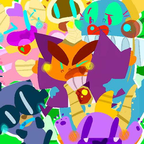 Spyro Pals by KrystalFleming