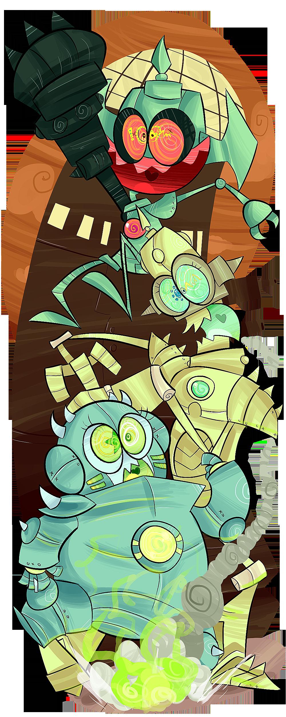 ROBOTOMY! by KrystalFleming