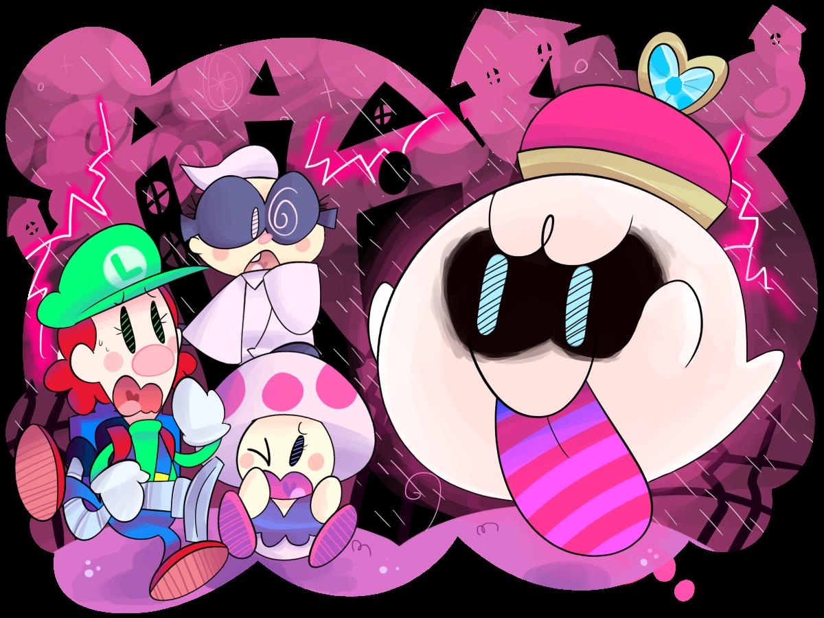 Girl Luigi's Mansion by KrystalFleming