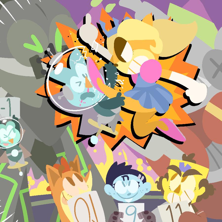Princess Fight! by KrystalFleming