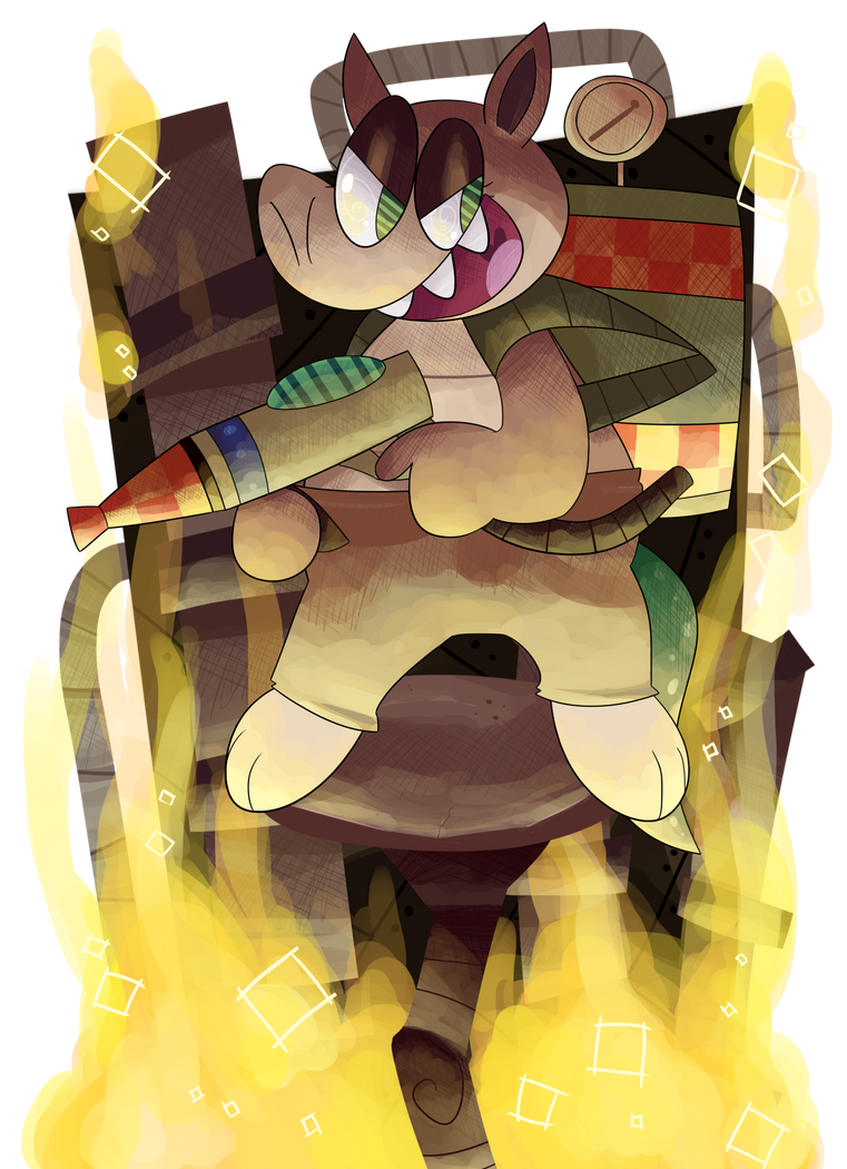 Bowser, Eat your Heart Out! by KrystalFleming