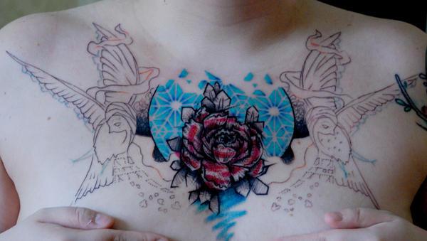 My Tattoo in Progress by MySweetDarkness