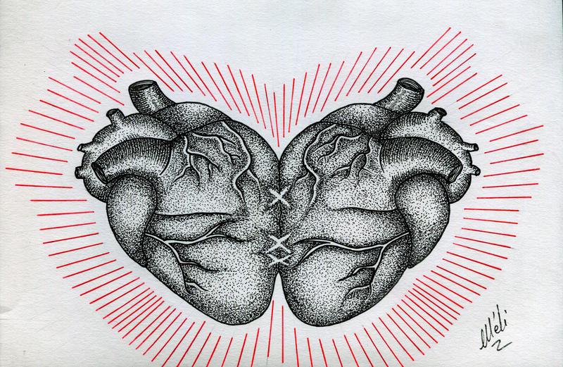 Ton coeur a pris le mien.... by MySweetDarkness