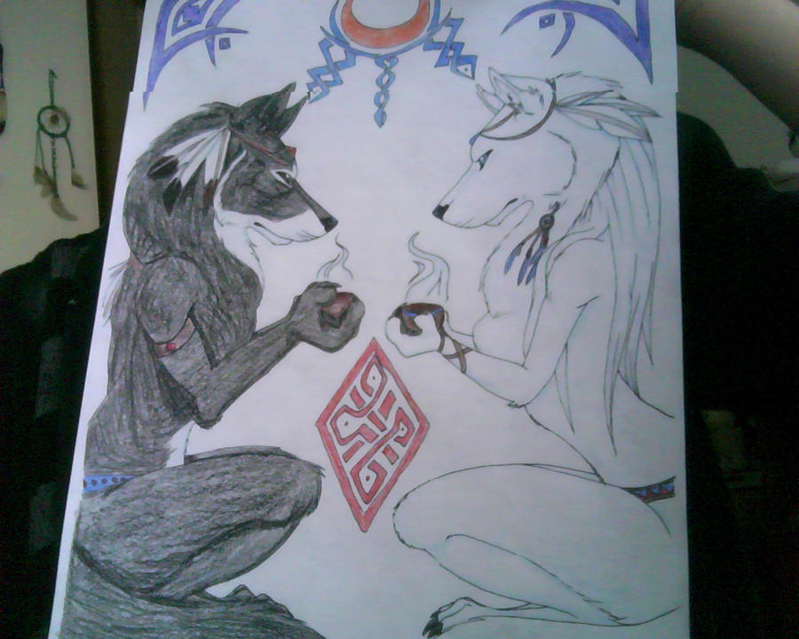 Wolf Mates Prayer by e...