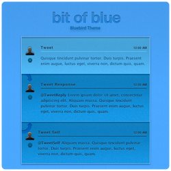 Bit of Blue - Bluebird Theme