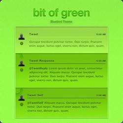 Bit Of Green - Bluebird Theme