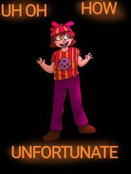 UH OH, HOW UNFORTUNATE- fnaf art