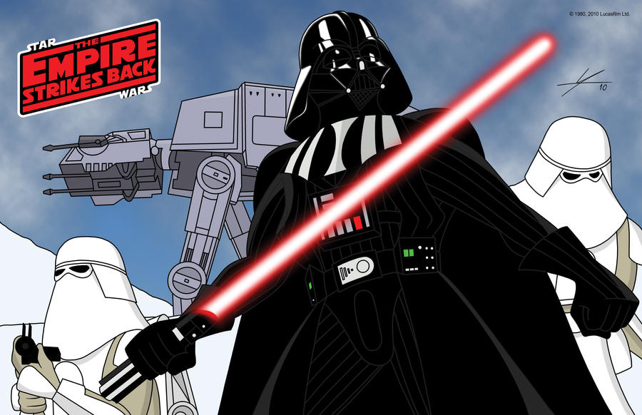 Vader Arrives by IAMO76