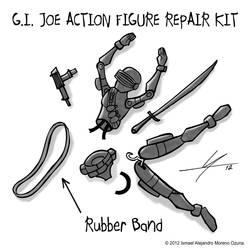 G.I. Joe Action Figure Repair Kit