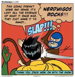 Nerdmigos: Hater Slap by IAMO76