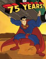 Superman - 75th Anniversary by IAMO76