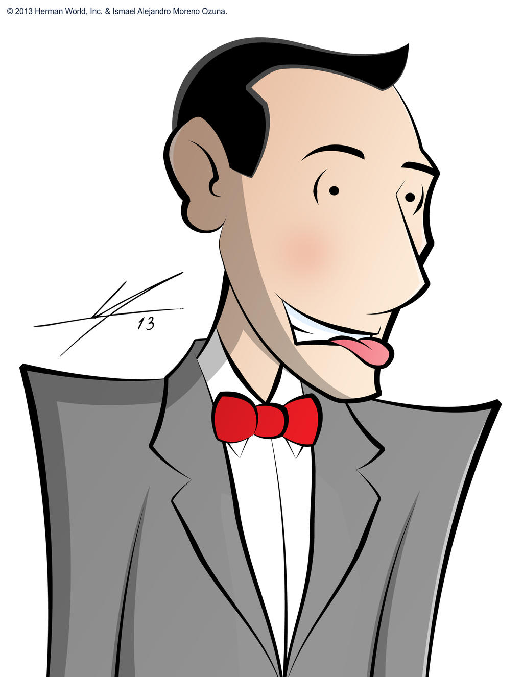 Pee-wee Herman by IAMO76