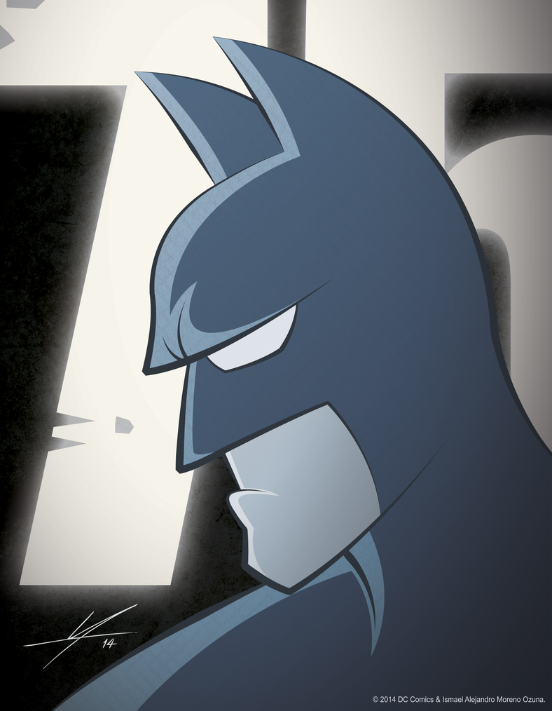 Batman 75th Anniversary by IAMO76