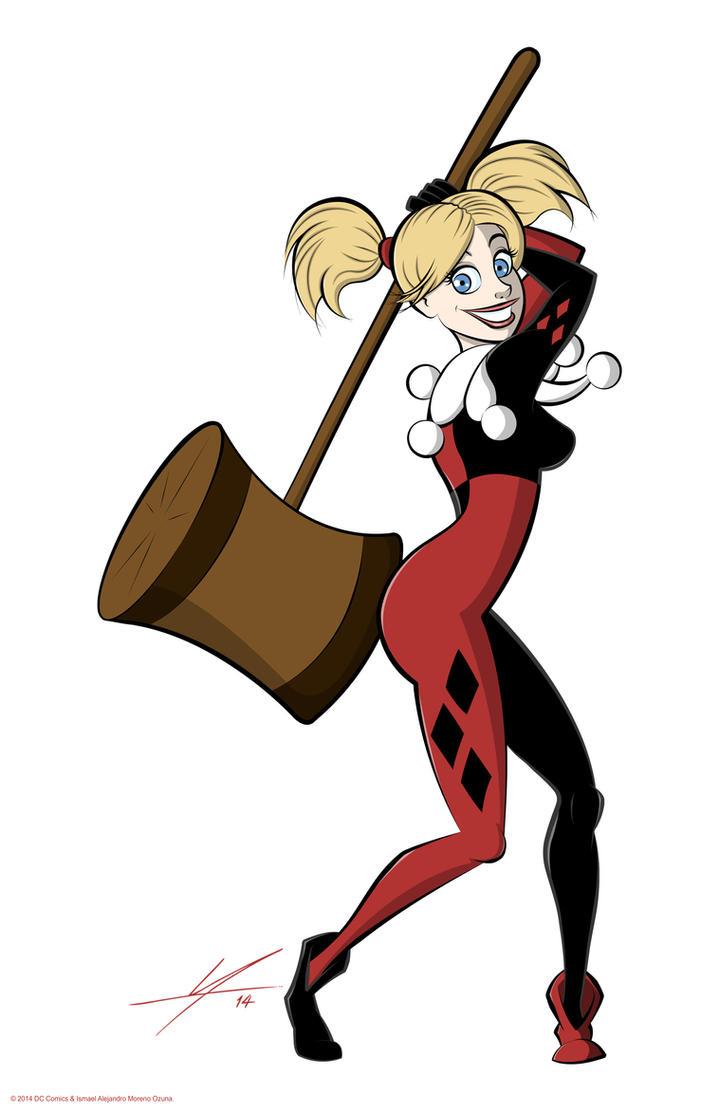 Harley Quinn by IAMO76