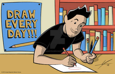 Draw Every Day!!!