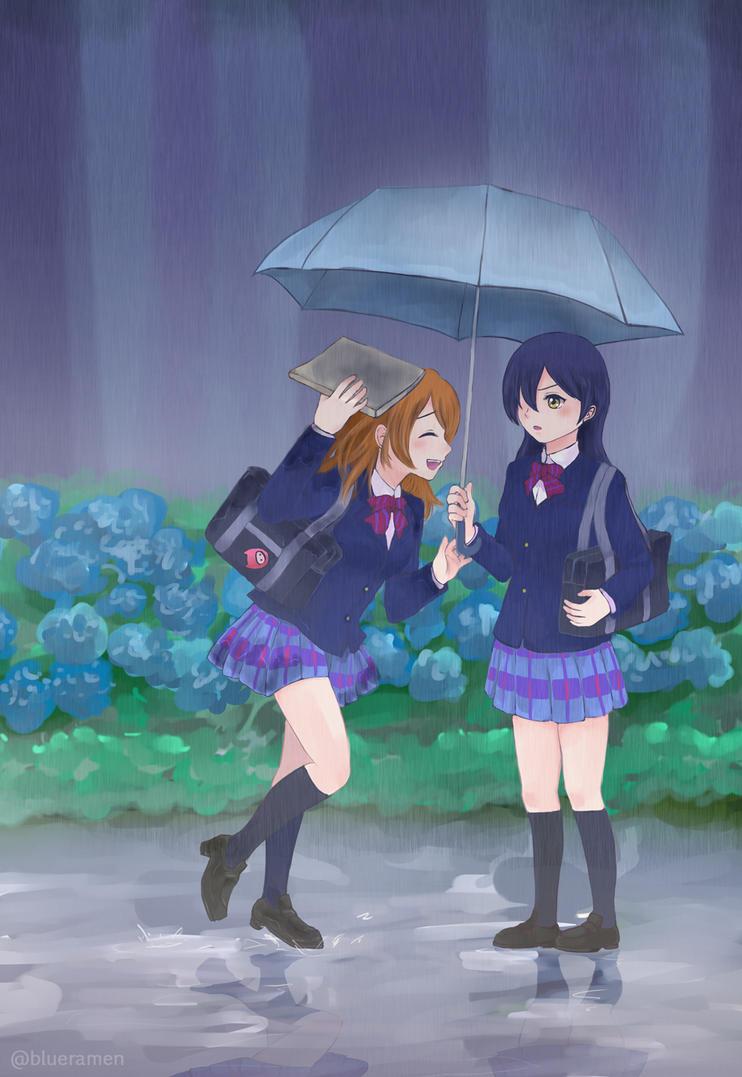 Rain by blue-ramen