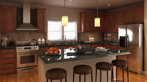 Colorado Home Kitchen by gronch