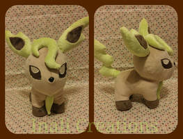 Chubby Leafeon