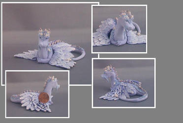 Purple dragon by Glori305
