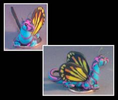 Psychedelic dragon 1 by Glori305