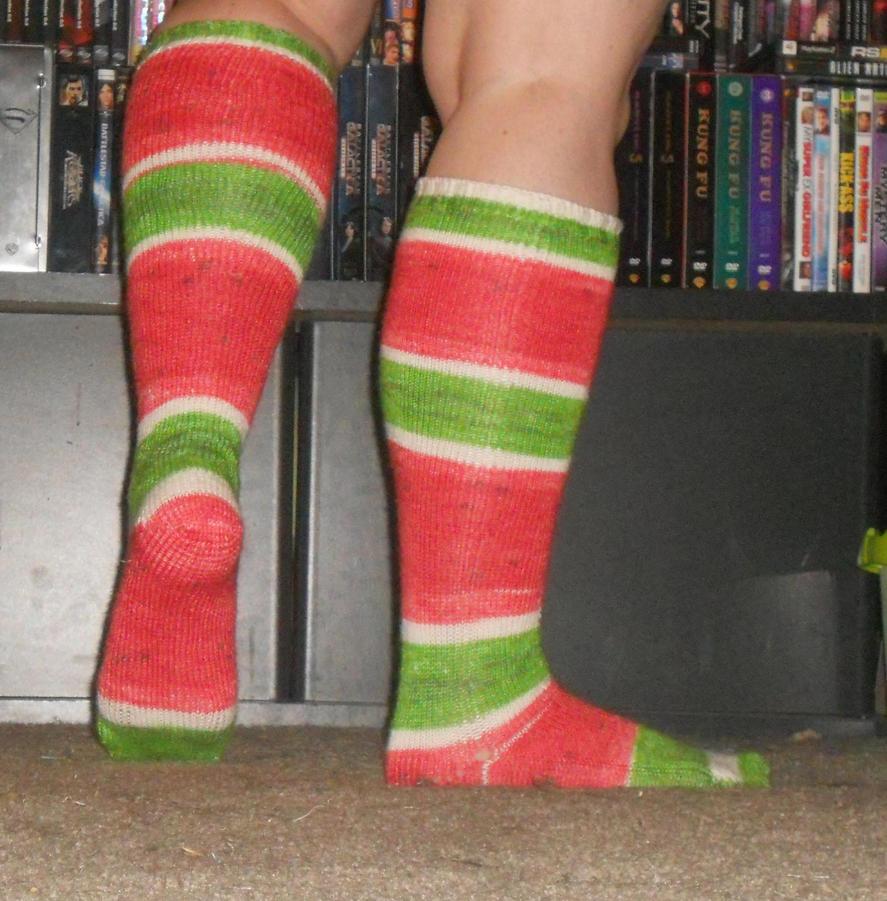 Watermelon socks by Glori305