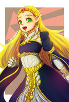 BOTW Princess Zelda by CaeriLorem