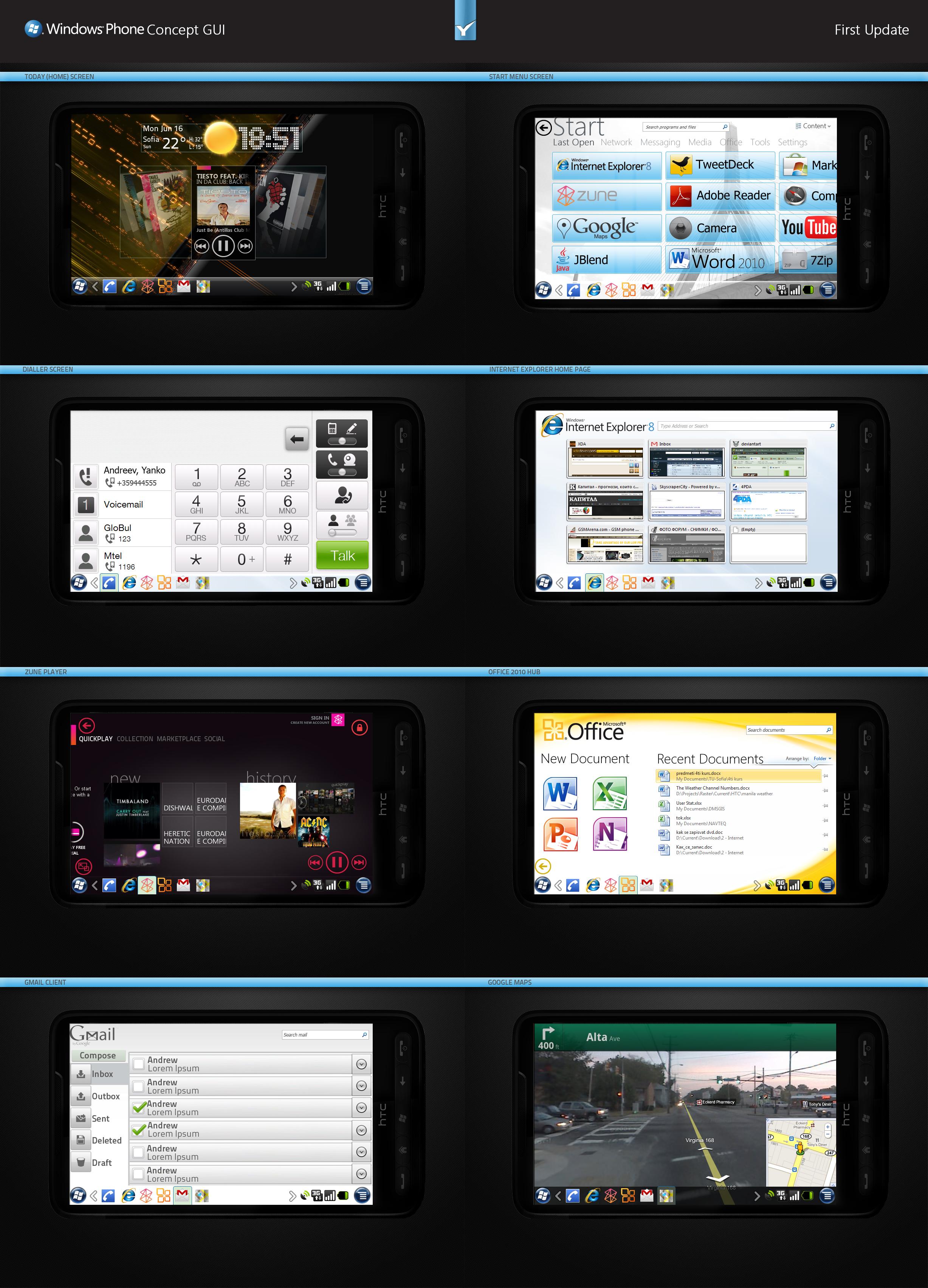Windows Metro Concept GUI 1 by yankoa