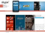 Skype WP7 Metro Concept