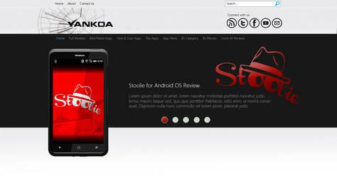 Web layout for sale by yankoa