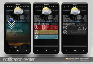 Notification center WP7